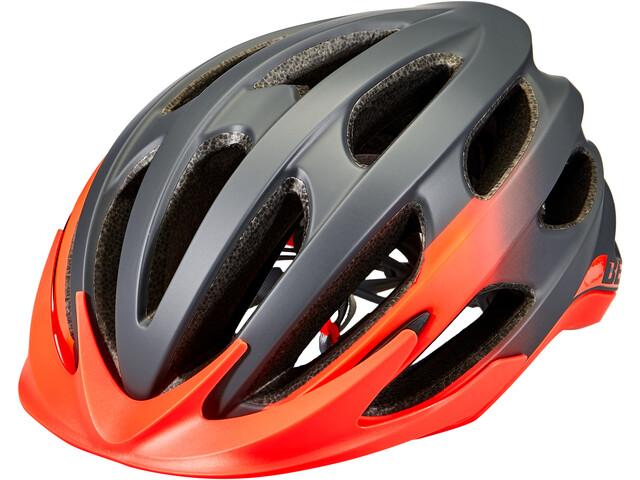 Bell Drifter Helm, matte/gloss gray/infrared